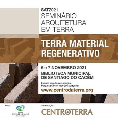 Seminário Arquitetura em Terra - Terra Material Regenerativo