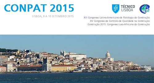CONPAT 2015 - Congresso Internacional em Reabilitação de Construções