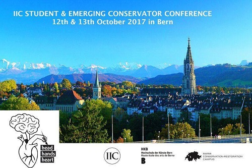 IIC Student & Emberging Conservator Conference 2017 - Head, Hands & Heart