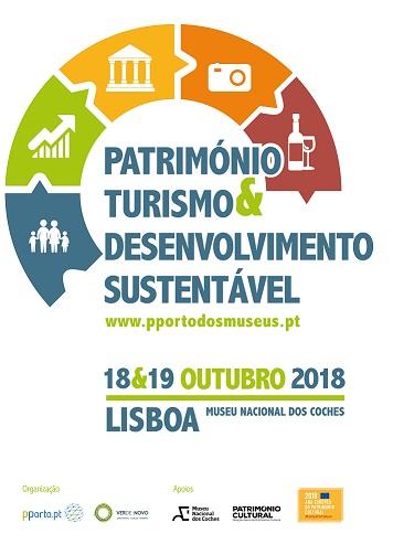 """SEMINÁRIO """"Património, Turismo e Desenvolvimento Sustentável"""" - 2.ª edição"""