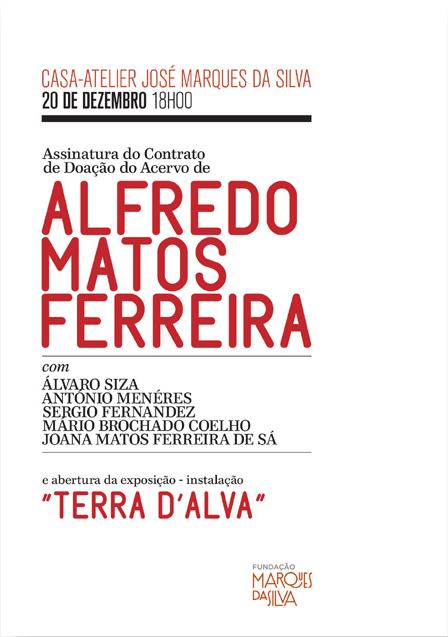 Assinatura do Contrato de Doação do Acervo de Alfredo Matos Ferreira à FIMS