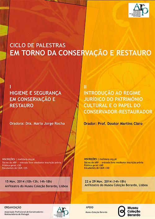 IV Jornadas ARP (Associação Profissional de Conservadores-Restauradores de Portugal)