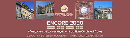 ENCORE 2020 – 4.º Encontro de Conservação e Reabilitação de Edifícios