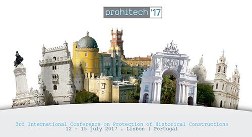 PROHITECH'17 - 3.ª Conferência Internacional sobre Protecção de Construções Históricas